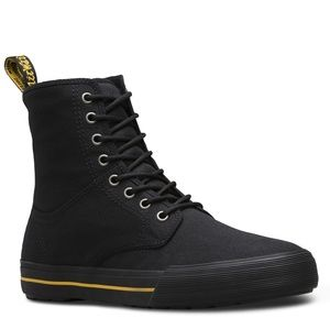 Dr. Martens | Mens Winsted Black Canvas Boot